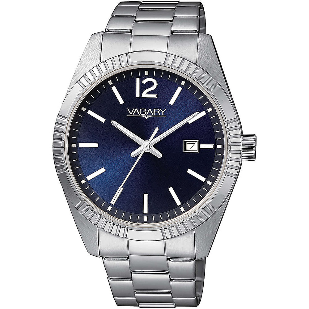 VAGARY Watch Only Time Man steel blue dial IB9-115-71