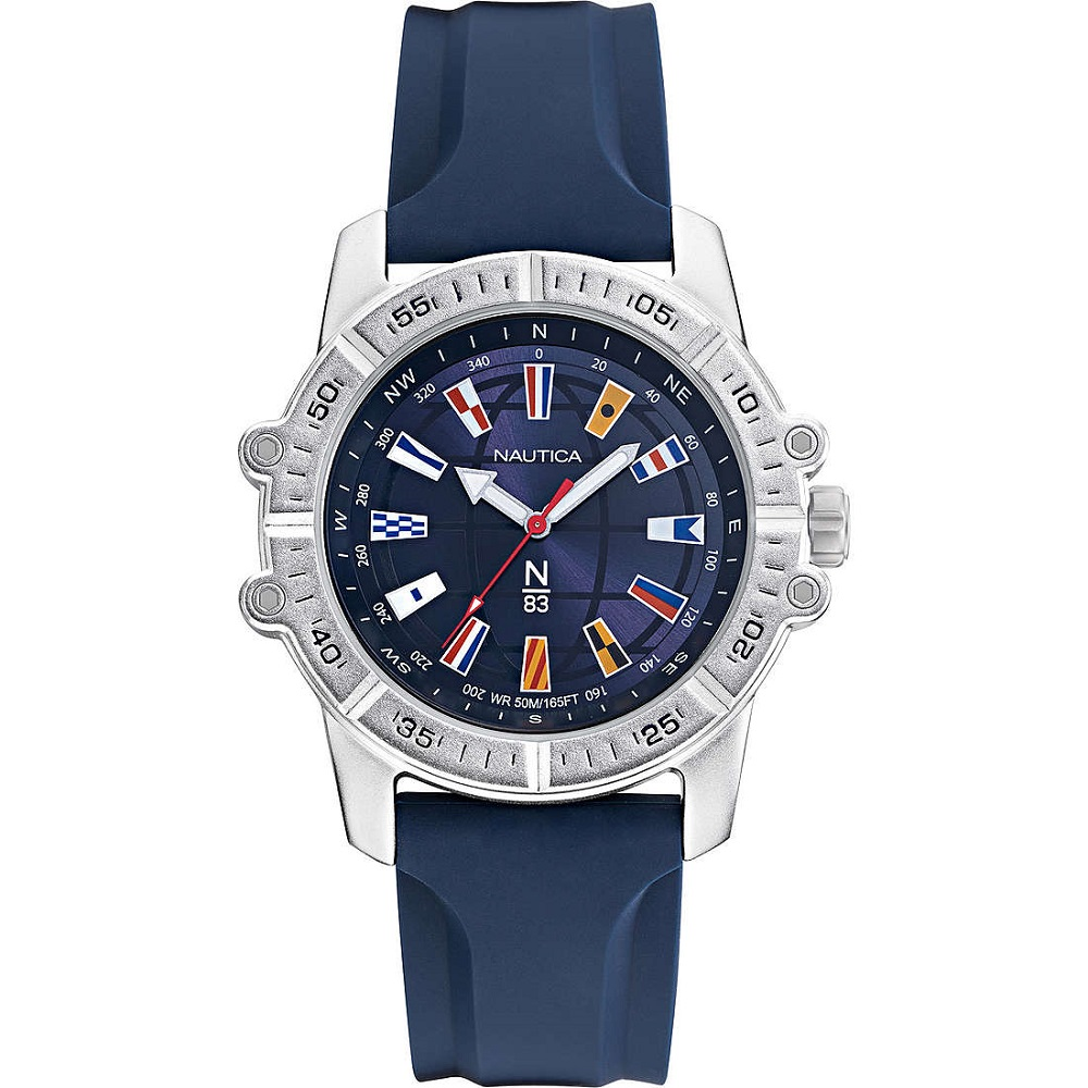 Nautica Watch Only Time Man all the blue flags in the quadrente NAPGCS001