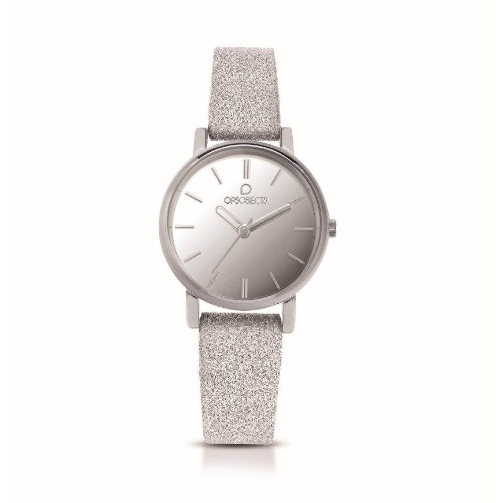 OPS watch only time woman strap Glitter OPSPOSH-121-2950