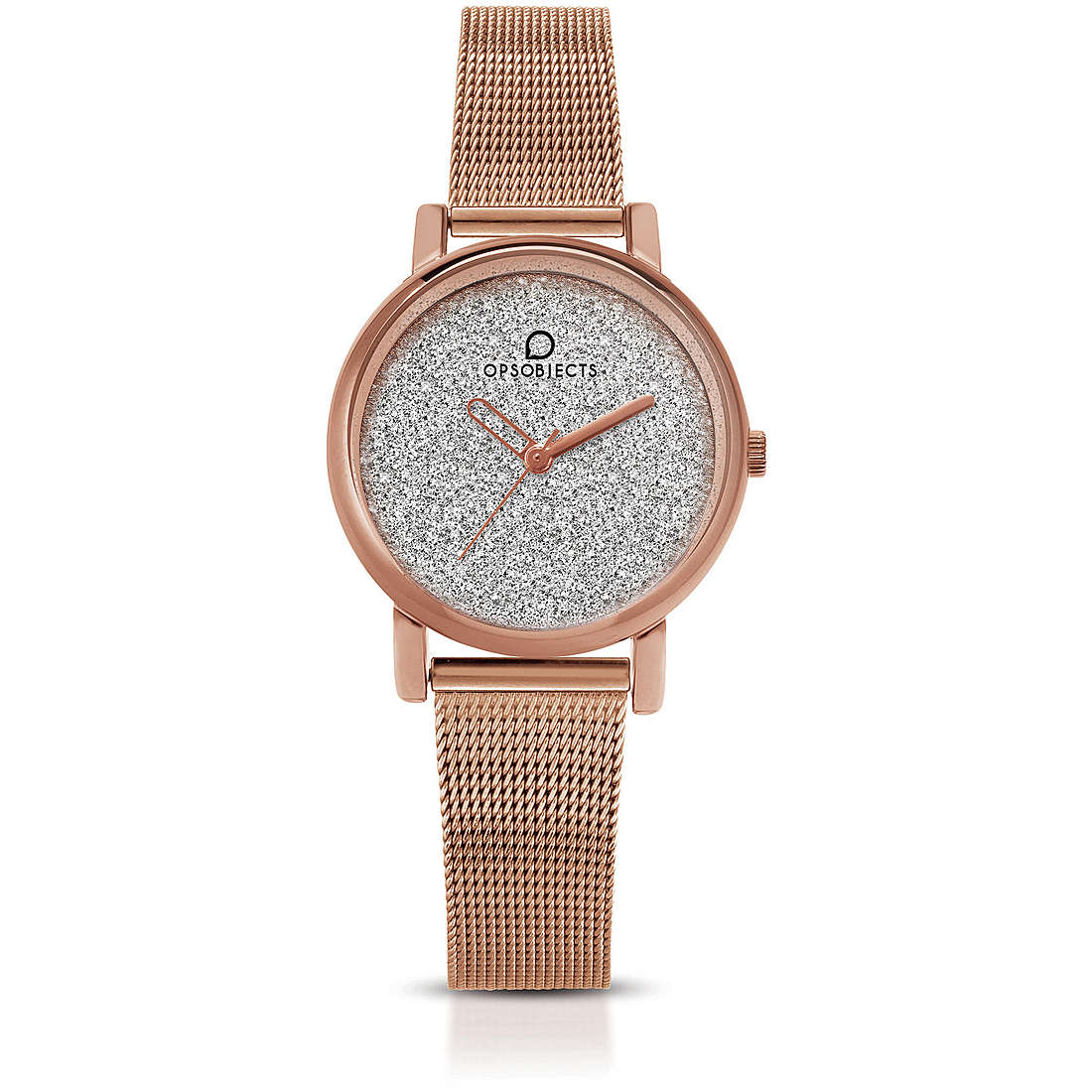 OPS Woman Watch Case made of Metal, With Treatment Pvd Rose Gold OPSPOSH-118-3450