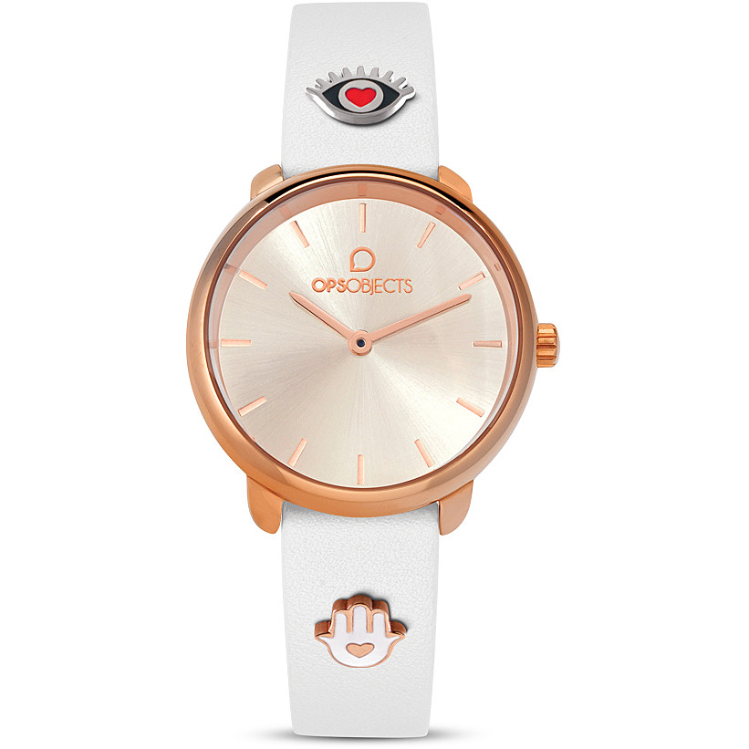 OPS watch only time woman, steel case color rose OPSPW-610-2700