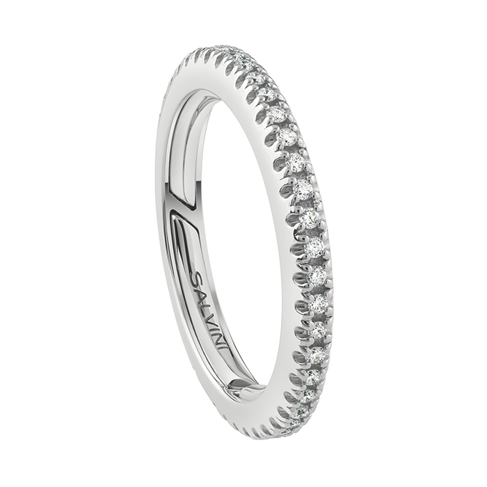 Salvini ring, white gold and diamonds 20086473