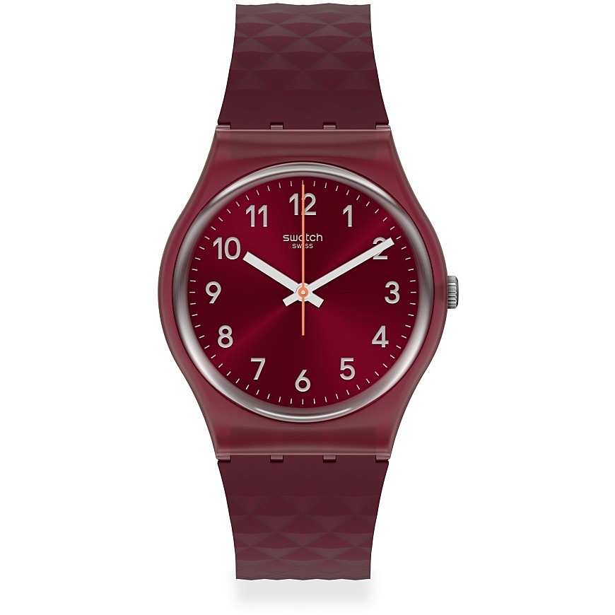 Swatch orologio unisex solotempo colore bordeaux GR184
