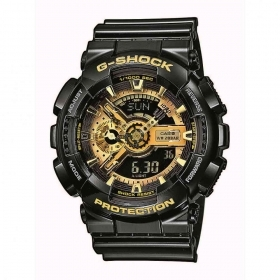 CASIO G-shock mens watch GA-110GB-1AER alarm chrono speed calendar