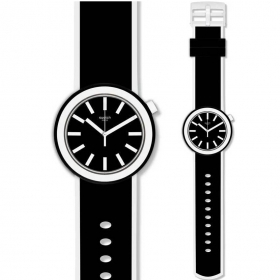 Regarder POP SWATCH grand homme femme POPLOOKING PNB100 coll