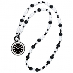 SWATCH watch large pendant necklace POPLOOKING BEADS PNB100N case 45mm