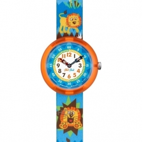 Flik Flak Swatch watch baby lion king forest RAWWWR FBNP060