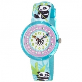 Flik Flak watch girl girl panda BAMBOO PARTY ZFBNP034