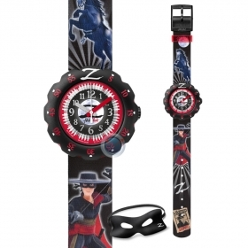 Flik Flak watch baby boy mask ZORRO ZFLSP009
