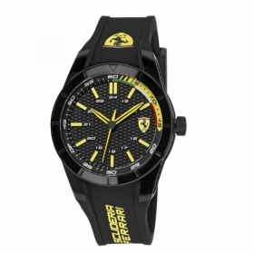 SCUDERIA FERRARI only time man watch RED REV red 44mm FER0830302