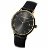 CESARE PACIOTTI mens Watch black steel fabric date cash gold 42 mm TSST111