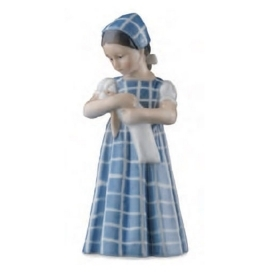 Royal Copenhagen Mary dress checkered 19cm Figurines 1024561