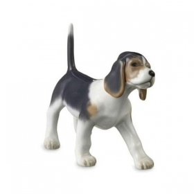 "Royal Copenhagen beagle puppy dog 4 "" Figurine 1249682"