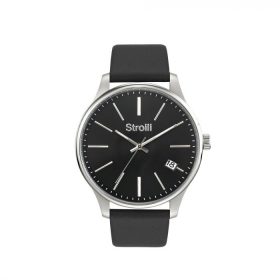 Stroili Man watch only time large numbers 42mm 1619294