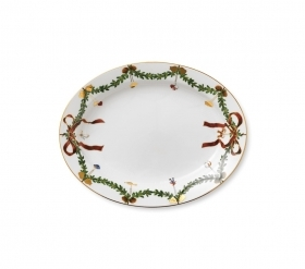 Royal Copenhagen christmas plate 37cm Star Fluted Christmas 1017443