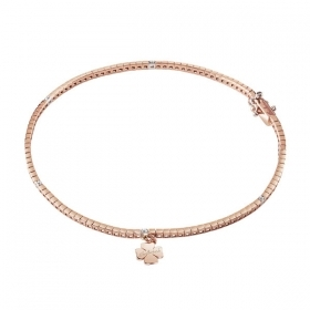 Salvini Bracelet woman type tennis rose gold and diamonds, SUGAR 20063863