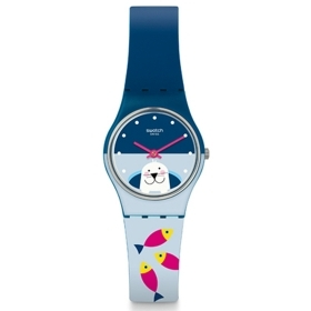 SWATCH woman Watch FISH ME BAB