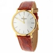 WATCH ALTANUS Geneve Slim men's ultra-thin alligator leather strap 39mm Ref.7924P