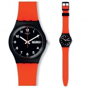 Woman watch SWATCH RED GRIN red 34mm GB754