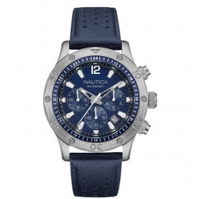 NAUTICA mens Watch chronograph 44mm Nst 21 Chrono NAD16547G