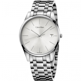 CALVIN KLEIN Watch man TIME only time sapphire SILVER 38mm K4N21146