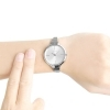 CALVIN KLEIN woman Watch-steel LIVELY, the only time SILVER 34mm K4U23126