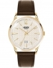 Henry London man watch Westminster only time brown 39mm HL41-JS-0016