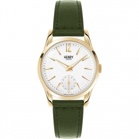 Henry London orologio donna Chiswick  solo tempo verde 30mm   HL30-US-0096