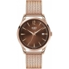 Henry London man watch Harrow only time brown 39mm HL39-M-0050