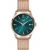 Henry London mens watch Stratford only time green 39mm HL39-M-0136