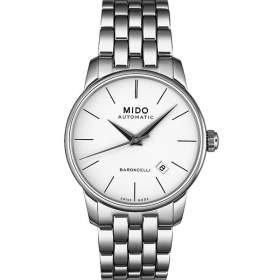 MIDO man watch automatic Baroncelli III Automatic 39mm M027.