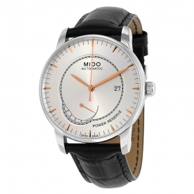 MIDO man watch BARONCELLI AUTOMATIC power reserve 42mm M8605.4.10.4