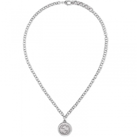 GUCCI necklace women COIN silver coin with logo YBB433481001