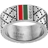 GUCCI ring band ring silver DIAMANTISSIMA 15 YBC295675001