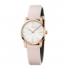 CALVIN KLEIN woman Watch steel CITY only time PVD rose gold 31mm K2G236X6