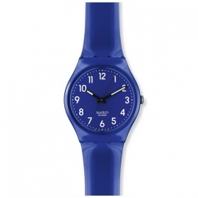 SWATCH woman Watch glossy blue