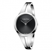 CALVIN KLEIN woman Watch-steel ADDICT bracelet black 30mm K7W2M111