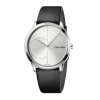 CALVIN KLEIN Watch man CITY only time black leather 40mm K3M211CY