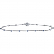 Bliss tennis bracelet women's the Milky Way with 18kt white gold 80 diamonds 0.22 ct 20043995
