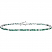 Bliss tennis bracelet woman silver Wire Design Daily silver 20070315