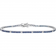 Bliss tennis bracelet woman silver Wire Design Daily silver 20070314