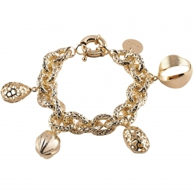 Bliss bracelet woman aluminum Outfit gold color 20071420