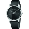 CALVIN KLEIN Watch man CITY only time black 43 mm K2G2G1C1