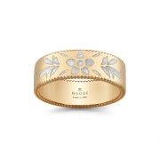 GUCCI ring women's band wedding ring Icon Blooms gold mis.14 YBC434525001