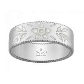 GUCCI ring women's band wedding ring Icon Blooms gold mis.14 YBC434525003