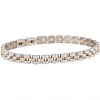 Bliss knit cuff man Admiral steel and gold pvd chain 20072860