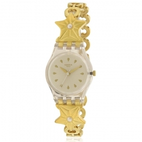 Swatch watch women 25mm stainless steel etoile de mer lk366g