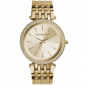 MICHAEL KORS Watch Us Pave tone gold MK3191
