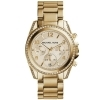Michael Kors Watch chronograph Blair tone gold MK5166