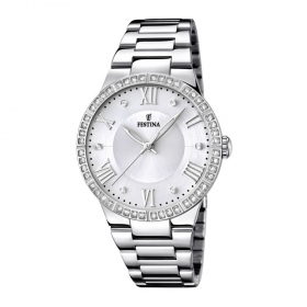 Festina watch women Lady steel